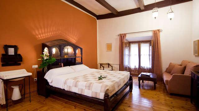 Escapada con encanto en una casa del S.XVI en el casco antiguo Villanueva de los Infantes