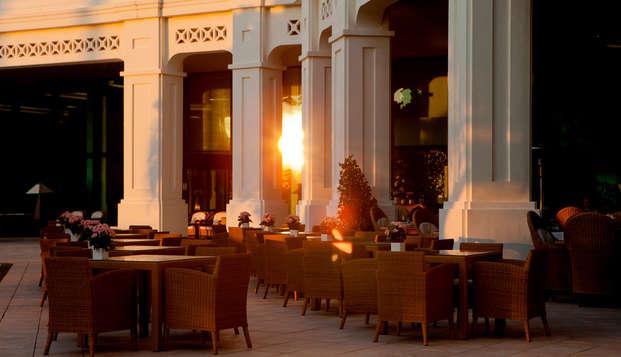 Hotel Las Arenas Balneario Resort - terraza atardecer