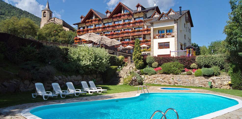 Hotel la morera 3 valencia d 39 aneu espagne for Reservation hotel en espagne gratuit