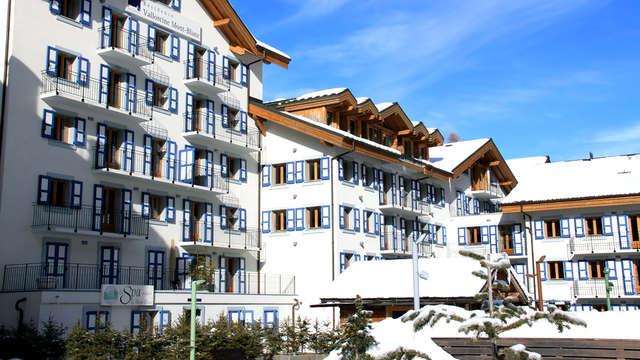 Oferta especial San Valentín: escapada bienestar a pie del Mont-Blanc