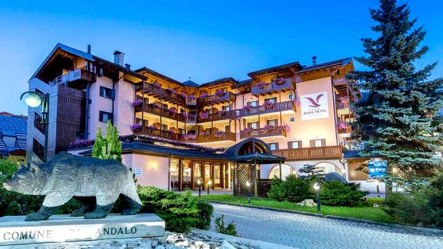 Tutto incluso! Pernottamento, mezza pensione e Spa con vista sulle Dolomiti