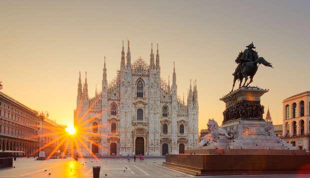 Séjour romantique de deux nuits dans un hôtel 4 étoiles raffiné à Milan