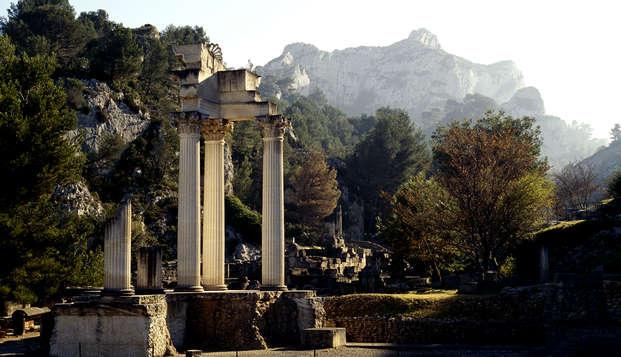 Détente en Provence avec découverte du Site Archéologique de Glanum