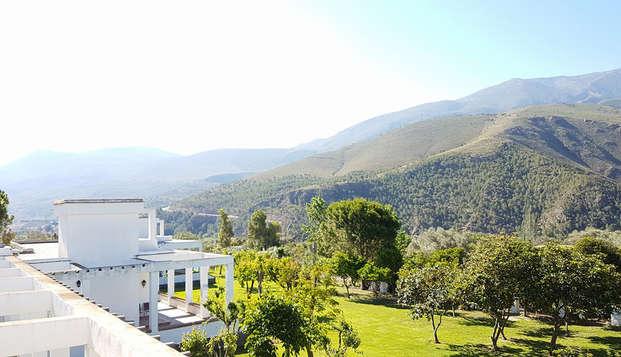 Desconexión y tranquilidad en paraíso natural en Órgiva, Granada