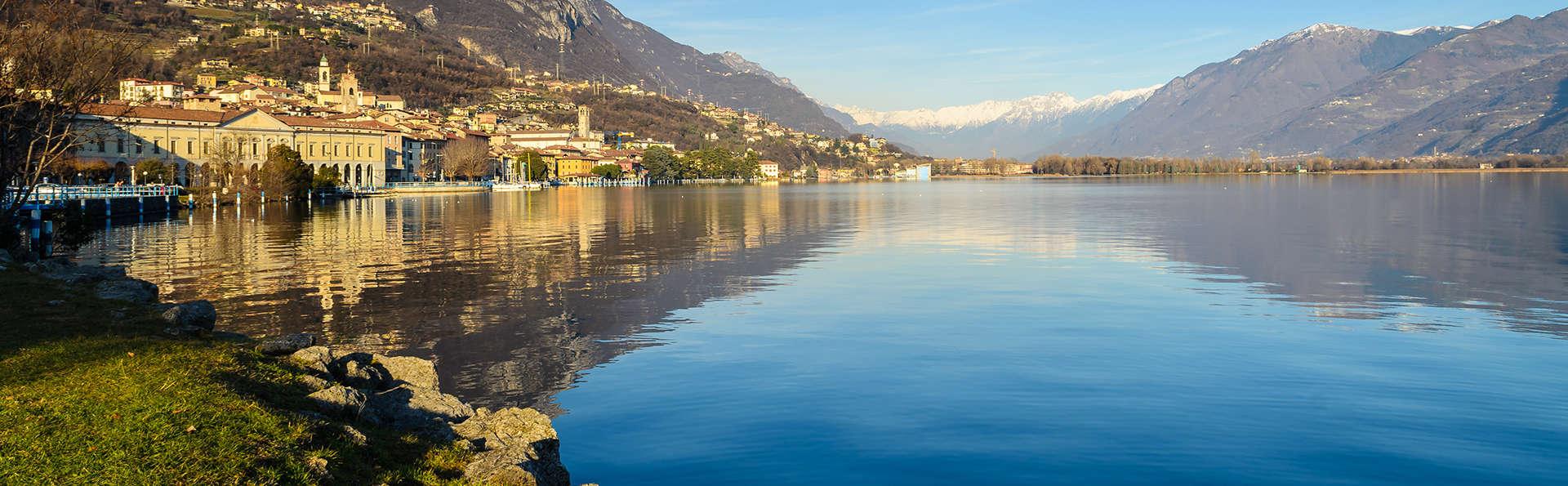 Découvrez les verdoyantes collines de Lombardie près du lac d'Iseo