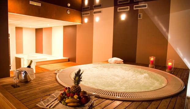 Escapada especial con acceso al spa para dos y detalles románticos