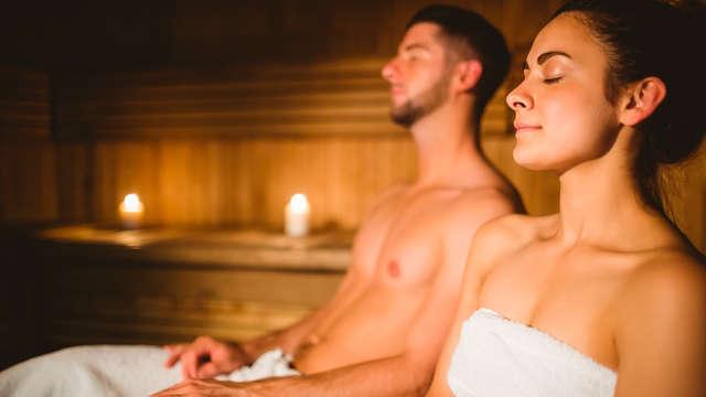 1 Accès au sauna