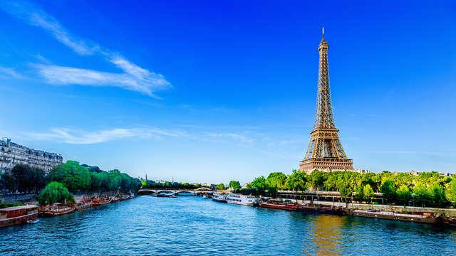 Descubre la belleza de París en una habitación doble Confort