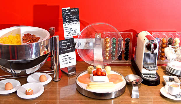 Best Western Plus Hotel La Joliette - Breakfast