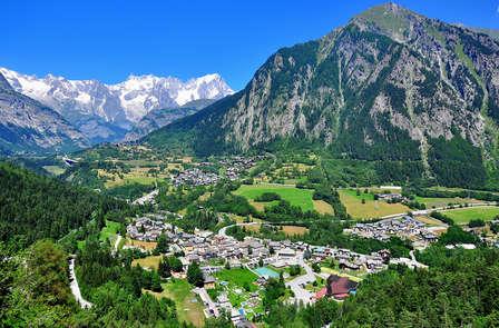 Tra le montagne valdostane ai piedi del Monte Bianco