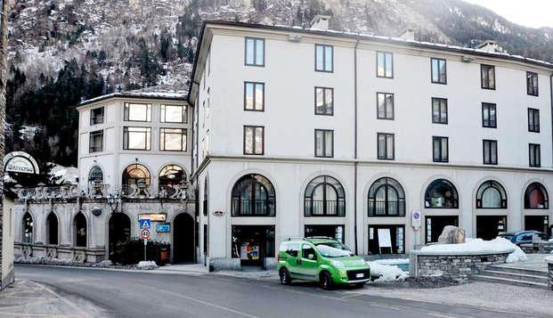 2 nuits au coeur de Valdigne, au pied du Mont Blanc !