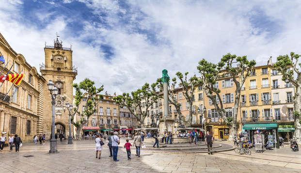Découvrez la belle Aix-en-Provence en chambre double Prestige