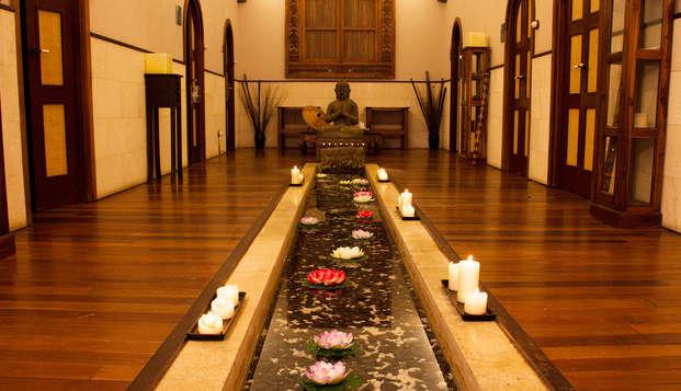 Especial Relax: circuito termal y baño balinés en privado en La Garriga (desde 2 noches)
