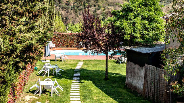 Weekend relax fra le verdi colline Toscane