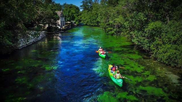 1 Location de canoë/kayak
