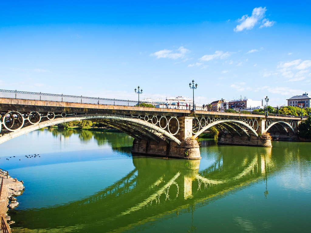 Séjour Seville - Succombez au charme de Séville: croisière semi-privée au coucher du soleil sur le Guadalquivir  - 3*