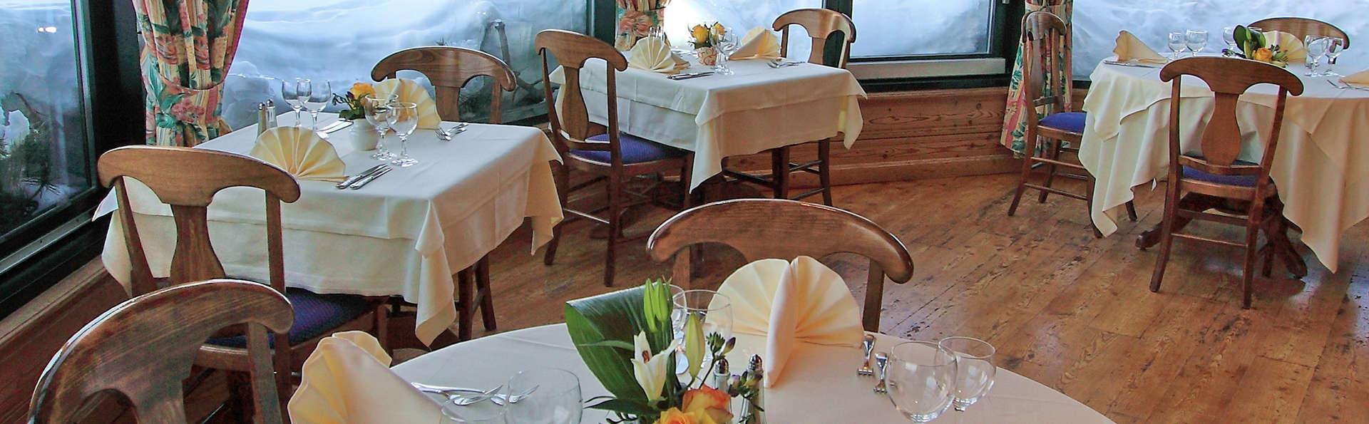 Relax et cuisine montagnarde avec vue magnifique sur la vallée à Veysonnaz (à partir de 2 nuits)