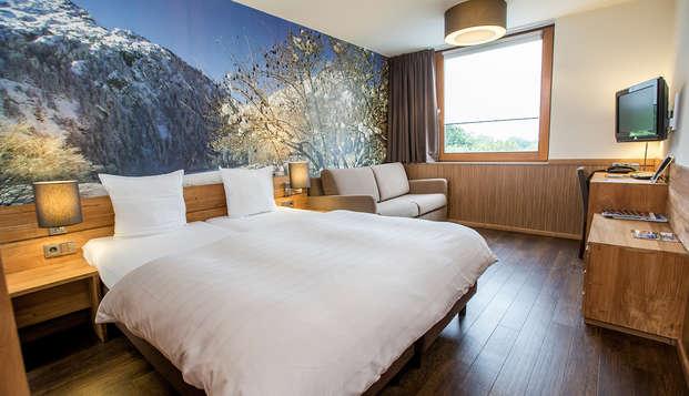 Nuitée extra et séjour de confort et détente à Landgraaf (3 = 2)