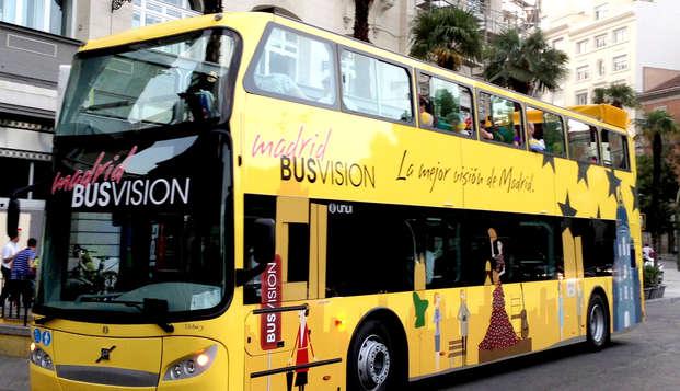 Descubre Madrid con un Panoramic Tour en un Bus turístico