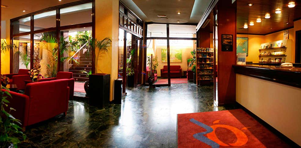 Hotel Icon Foyer : Hotel marsol lloret de mar espagne