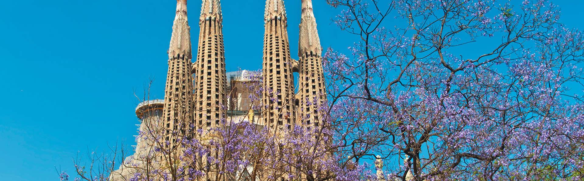 Week end en amoureux barcelone avec 1 billet coupe file pour la sagrada familia pour 2 adultes - Billet coupe file sagrada familia ...