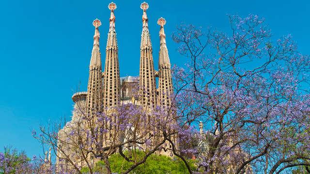 Descubre Barcelona con entradas al Camp Nou y la Sagrada Familia (desde 2 noches)