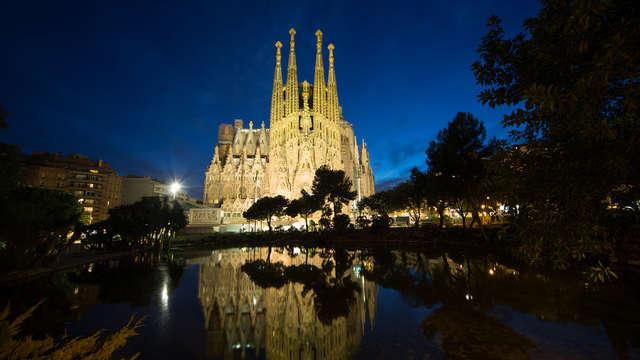 Escapada en Barcelona con visita a la Sagrada Familia