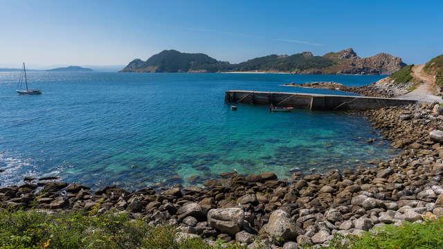 Escapada Romántica con crucero a las Islas Cíes y bañera de hidromasaje