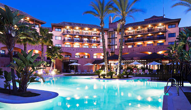 Escapada 4*: Disfruta en pareja con cena inlcuida y zona relax en Islantilla, Huelva
