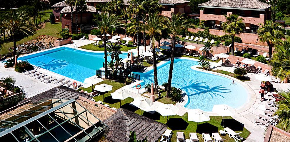 Carte Andalousie Islantilla.Islantilla Golf Resort 4 Islantilla Espagne