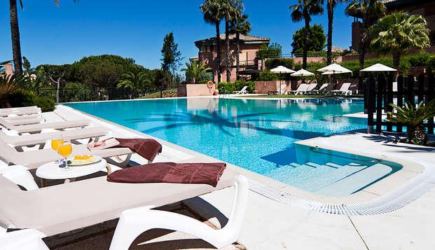 Escapada con acceso a la zona relax en Resort 4* en Islantilla, Huelva