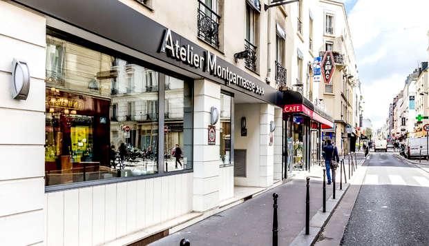 Hotel Atelier Montparnasse - Front