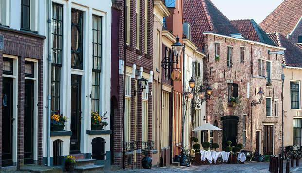 Dîner et promenade à vélo à Deventer (à partir de 2 nuits)