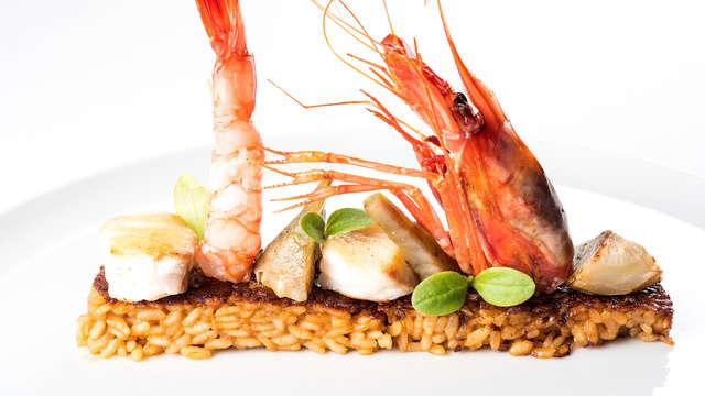 Escapada con cena gastronómica  y spa en un hotel de lujo en Lloret de Mar