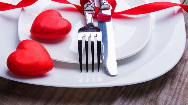 Séjour avec dîner pour la Saint-Valentin à Dinan