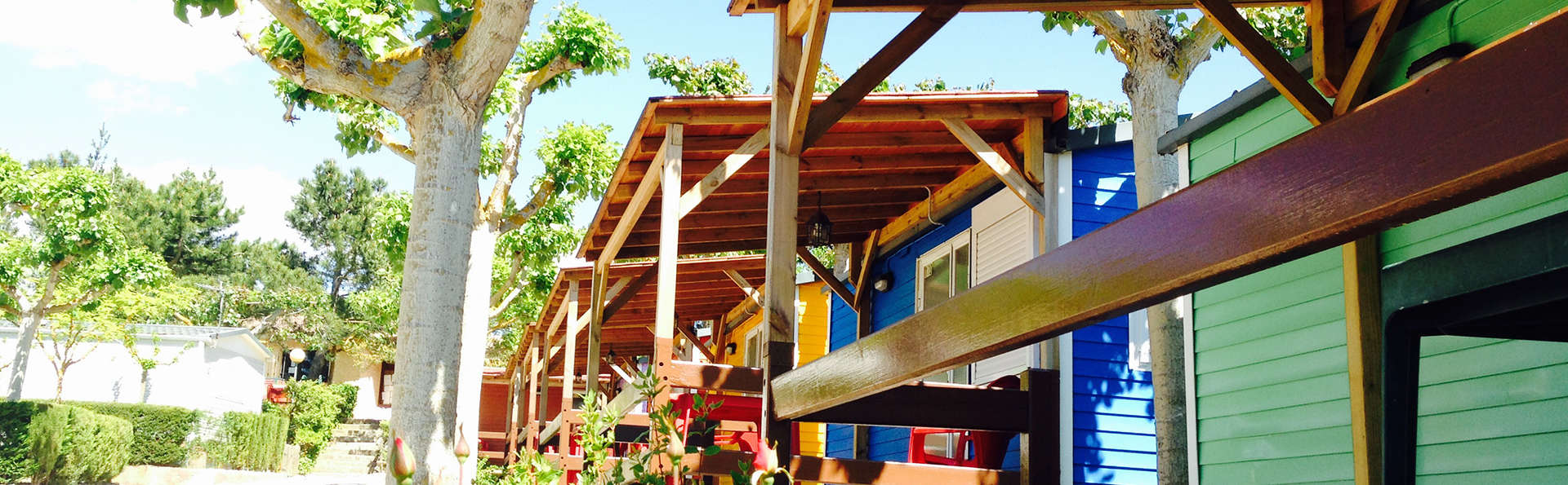 Escapade en Mobil Home Primavera avec location de courts de paddle à Prades