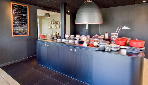 Hotel-Restaurant Campanile Clermont Ferrand Nord - Restaurant