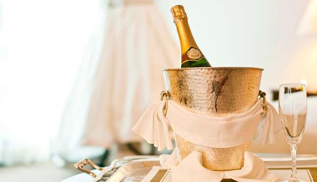 Week-end à Paris en chambre deluxe avec champagne !