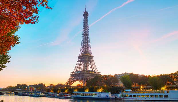Week-end à Paris avec déjeuner croisière sur la Seine