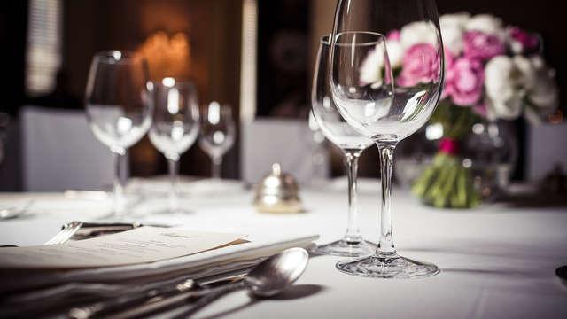 Week-end gourmand avec dîner aux portes de Clermont-Ferrand