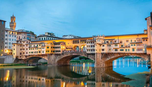 Estancia en Florencia en elegante hotel 4*