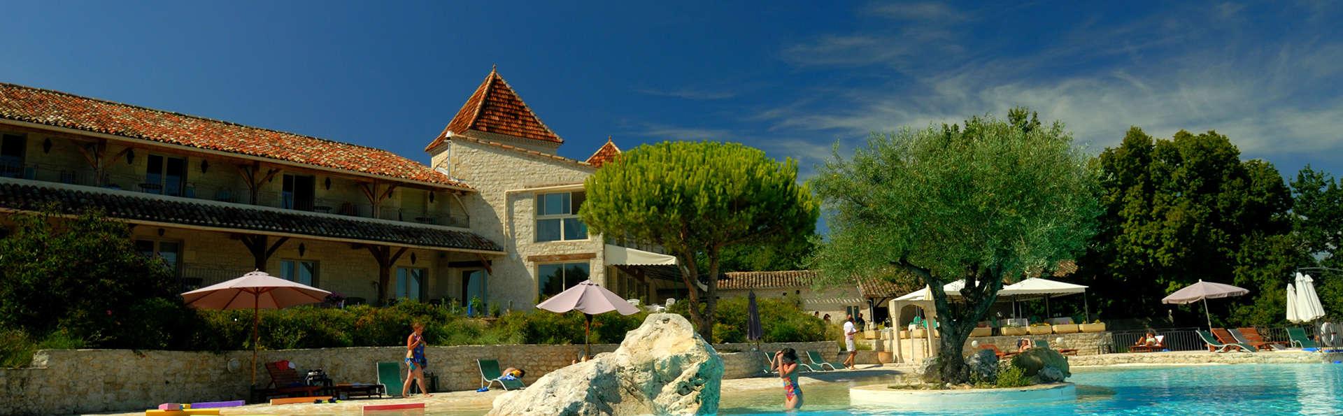 Week end détente et spa dans un des plus beaux villages de France au cœur du Quercy