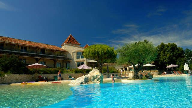 Escapada relax con acceso al spa en uno de los pueblos más bellos de Francia en el corazón de Quercy