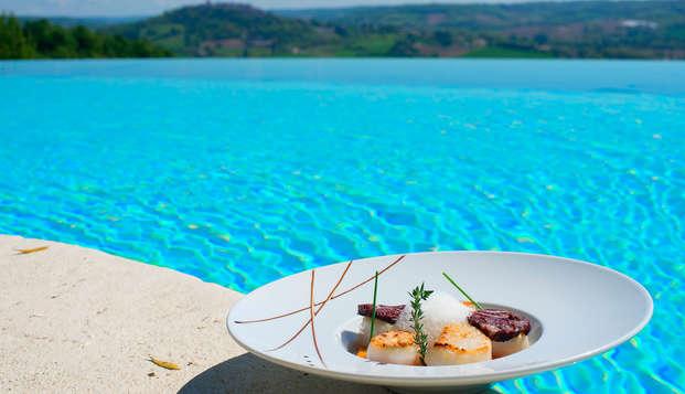 Évadez-vous le temps d'un séjour en suite avec dîner et accès spa