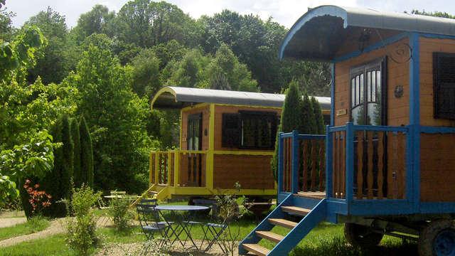 Séjour insolite en roulotte avec accès SPA dans un parc naturel en Corrèze (à partir de 2 nuits)
