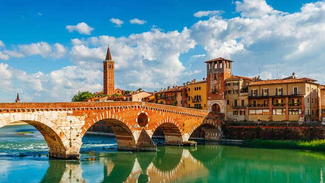 Soggiorno alle porte di Verona con spa e visita all'Arena
