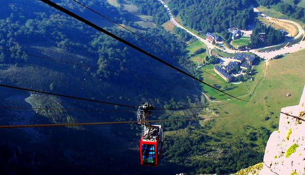 Escapada con tickets para el Teleférico de Fuente Dé y Visita a bodega en Los Picos de Europa