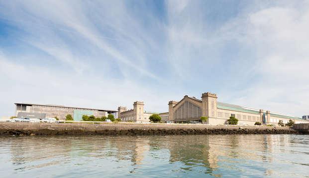 Découverte de la Cité de la Mer avec séjour à Cherbourg