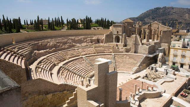 Week-end culturel avec visite du théâtre romain de Carthagène