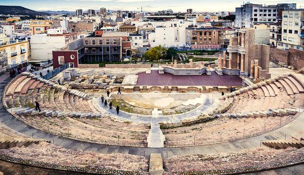 Escapada cultural en Cartagena con visita al teatro y museo romano